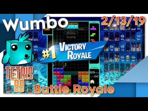 Tetris 99 Battle Royale #1 Player First Day