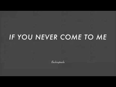 If You Never Come To Me (Inutil paisagem) - Jazz Backing Track Play Along The Real Book