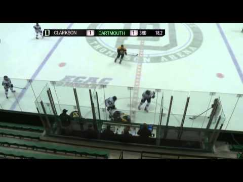 Clarkson Women's Hockey - Knights 2 - Dartmouth 1 OT - Feb. 20. 2015
