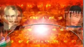 Tekken Tag Tournament 1999 Playstation 2 NINA & Lei team playthrough - unlock KUNIMITSU