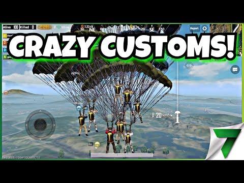 CRAZY CUSTOM MATCHES! HIDE n SEEK, ZOMBIES & MORE!! | PUBG Mobile