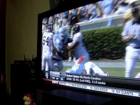 NFL 2011 DRAFT Pick 14 Rams  Robert Quinn, DE 6