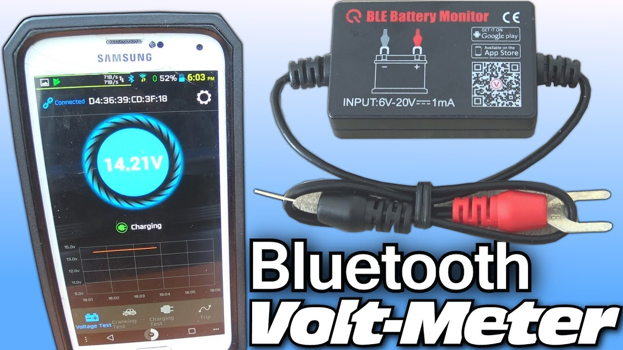 installing bluetooth voltmeter w exo 39 s 10 000 watt car audio system smartphone voltage gauge. Black Bedroom Furniture Sets. Home Design Ideas