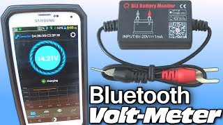 Installing Bluetooth VOLTMETER w/ EXO's 10,000 Watt Car Audio System & Smartphone Voltage Gauge