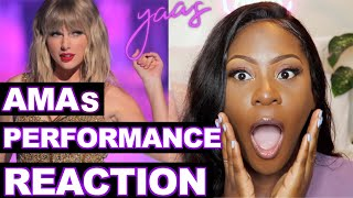 Taylor Swift - AMA Performance 2019 REACTION | Artist of the DECADE!! Video