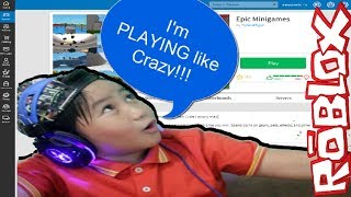 PLAYING like CRAZY / Epic Minigames Roblox ZeR-0xX-N0o Codes (2018)