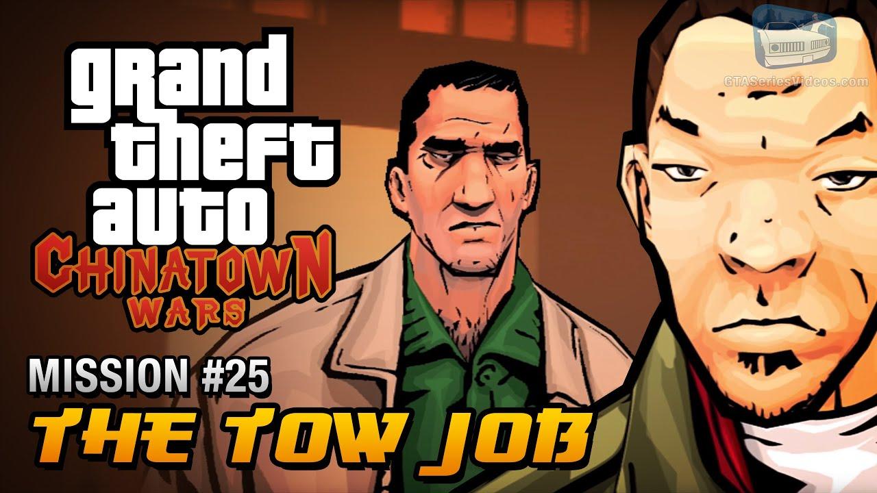 GTA Chinatown Wars - Mission #25 - The Tow Job
