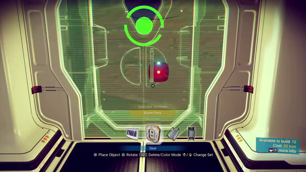 how to build storage containers with inside terminals in no man s sky youtube. Black Bedroom Furniture Sets. Home Design Ideas