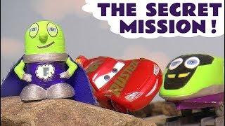 Funny Funlings Super Funling and Disney Cars Lightning McQueen Secret Spy Mission toy story  TT4U