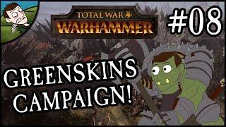 DESTROYING DWARFS! Total War WARHAMMER - Greenskins Campaign Part 8