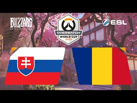 Overwatch - Slovakia vs. Romania - Overwatch World Cup - Group D