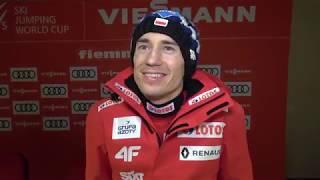 Kamil Stoch znów na podium w Predazzo! [13.01.2019]