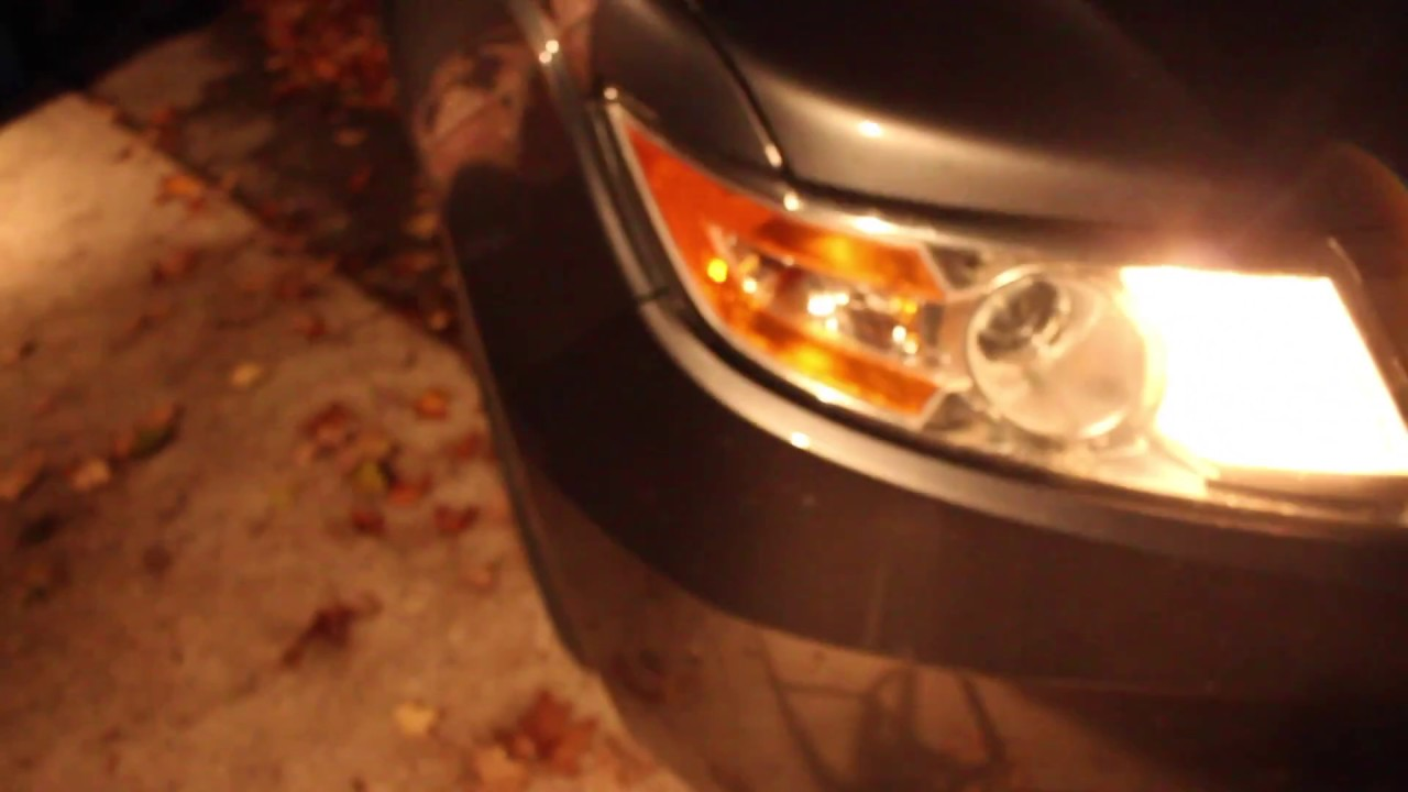 How To Replace Front Turn Signal Light Bulb Honda Odyssey