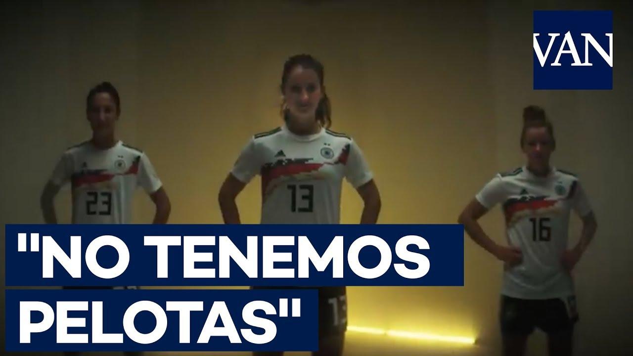 """Alemania, antes del Mundial femenino: """"No tenemos pelotas, pero sabemos cómo usarlas"""""""