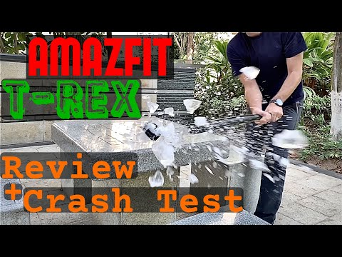 Amazfit T-Rex Review & Survival Test
