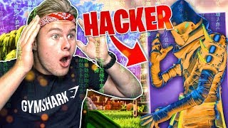 THIS GUY IS A HACKER, HE CAN DISAPPEAR!! 😱-Fortnite Battle Royale (English)