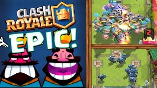 WORLD RECORD? MASS PEKKA AND INFERNO DRAGON :: Clash Royale :: HOW MANY CAN WE DROP?