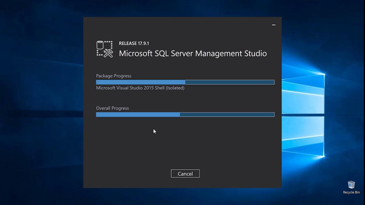 download sql server management studio 17.9