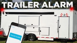 Can Your Trailer Alarm Do This? Our Plan for Keeping the Workshop Secure