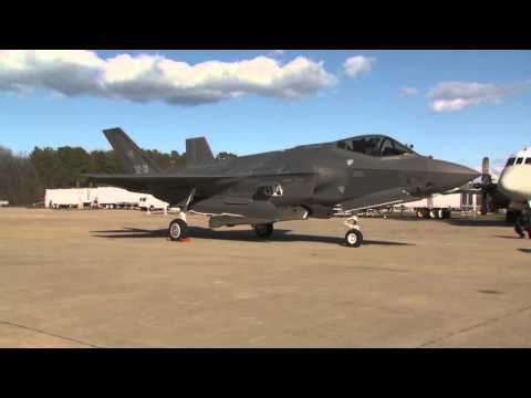AL-1 Arrival at NAS Patuxent River Naval Air Station - B-Roll HD