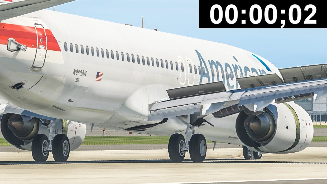Stopping a Plane in Only 0.2 Seconds