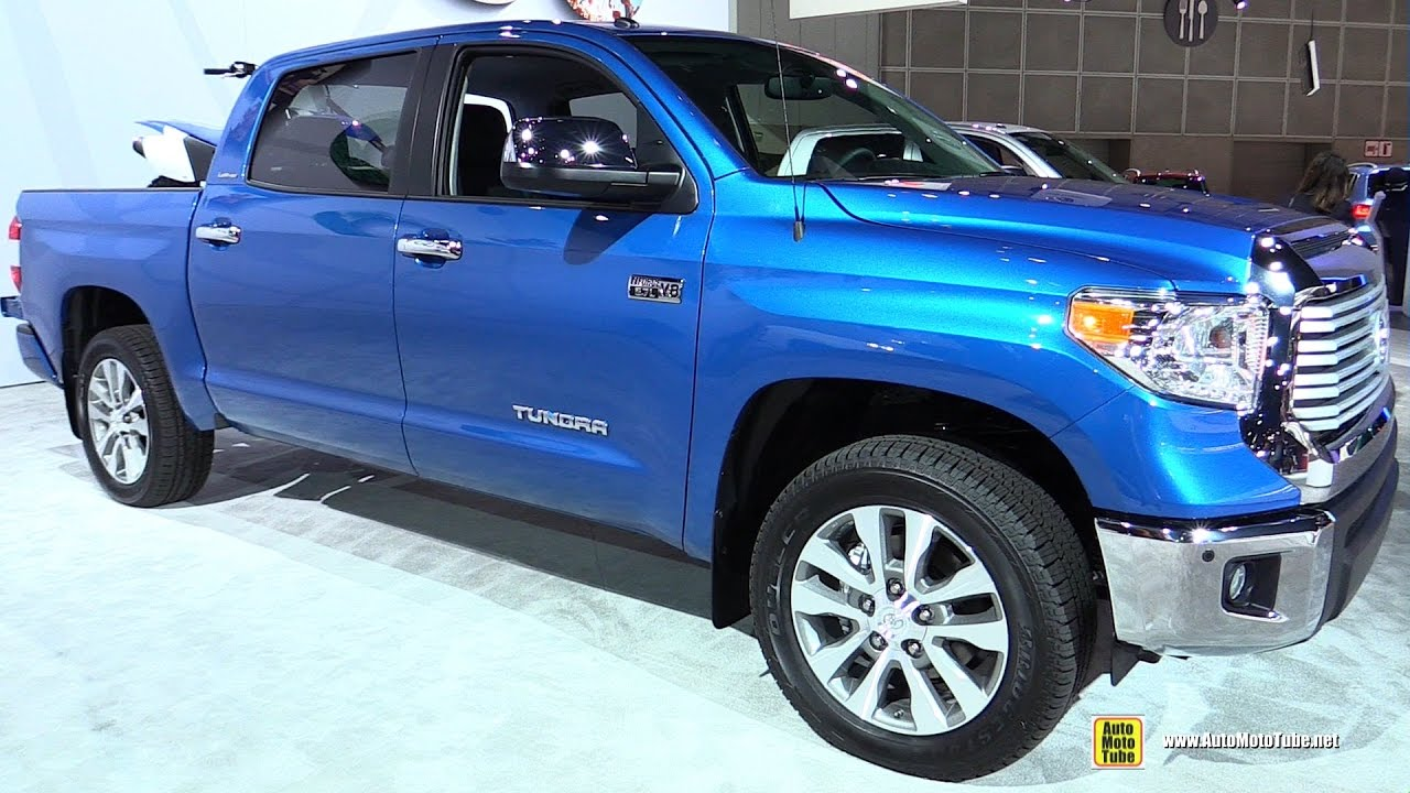 2017 Toyota Tundra Limited - Exterior and Interior ...