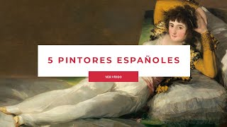 5 Spanish Artists (Other Than Picasso)