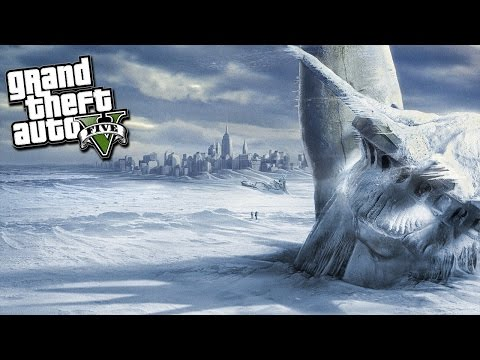 GTA 5 Mods - END OF THE WORLD BLIZZARD!...