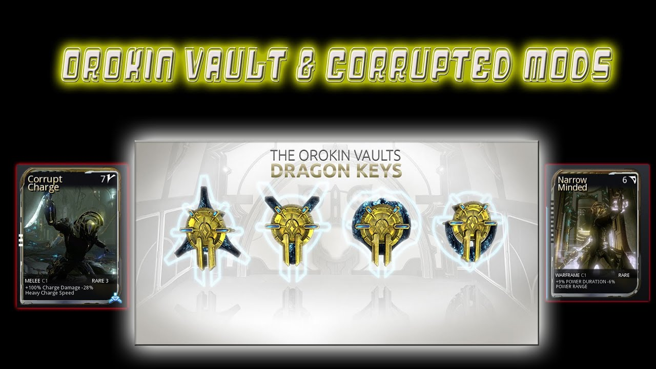 warframe dragon vault