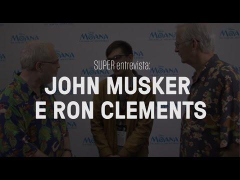 """SUPER entrevista: John Musker e Ron Clements, diretores de """"Moana"""""""