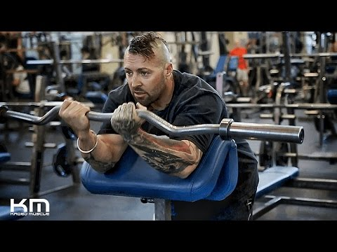 Preacher Curls | How To Perform It Correctly