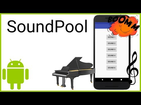 SoundPool - Android Studio Tutorial