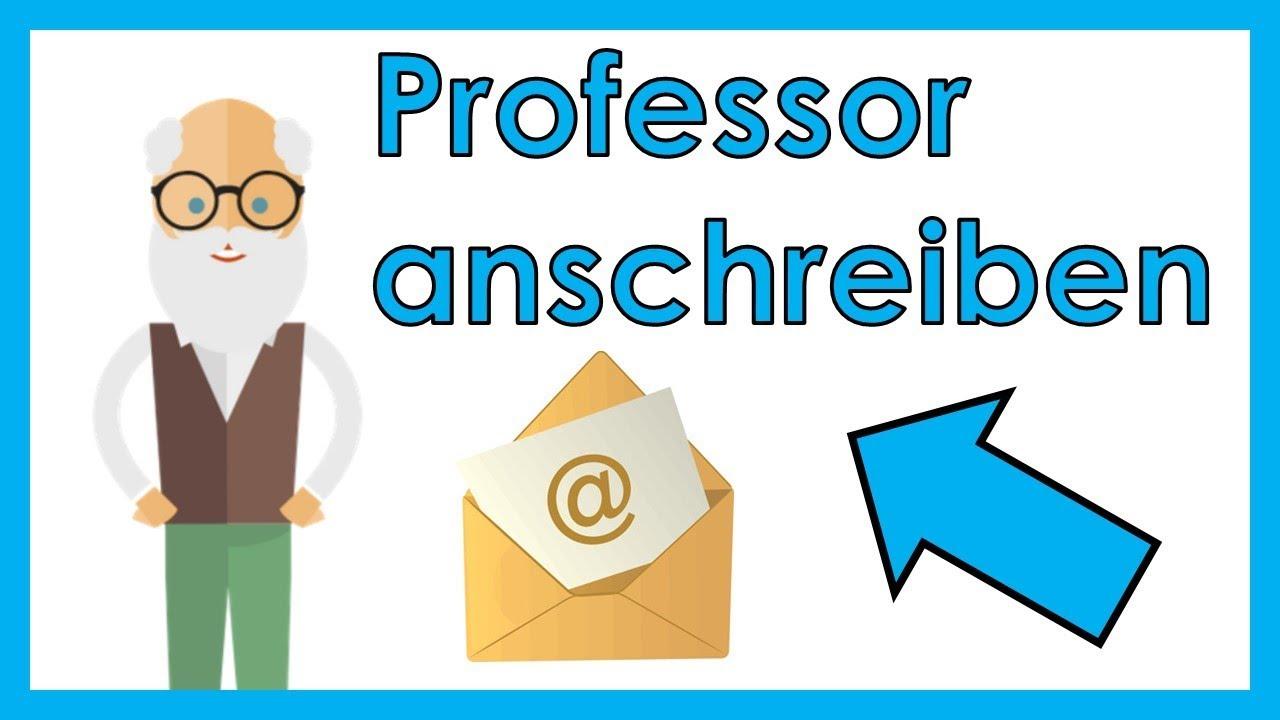 Professor Anschreiben Der E Mail Knigge Für Studenten