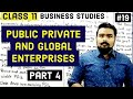 #19, Changing role of Public sector(Class 11 business studies)