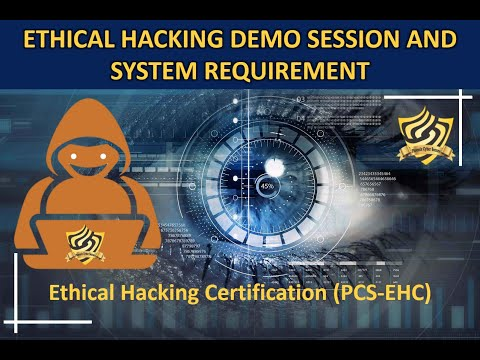 Ethical hacking demo session and system requirements.