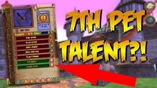 Wizard101: NEW 7TH PET TALENT?! (Chi Focus Jewel)