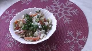 Салат, лёгкий, вкусный