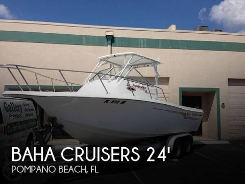 [SOLD] Used 1995 Baha Cruisers Fisherman 240 in Margate, Florida