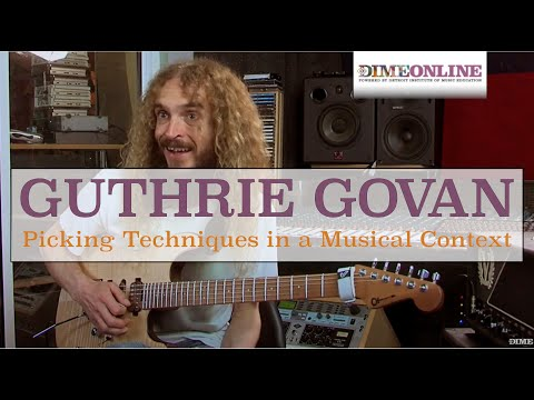 Guthrie Govan on Picking Techniques in Context
