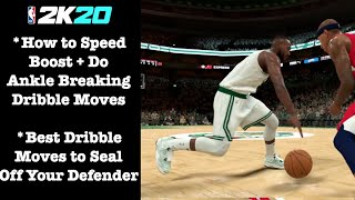 NBA 2K20 Dribble Tutorial. How to Dribble + Glitchy Moves to Speed Boost + do Ankle Breakers in 2K20