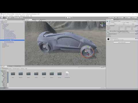 Creating a Custom Driveable Car in Unity 2017 and 5.X