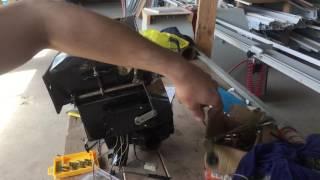 """Доработка печки УАЗ 452. """"Ноздря"""" и кран печки с электроприводом"""