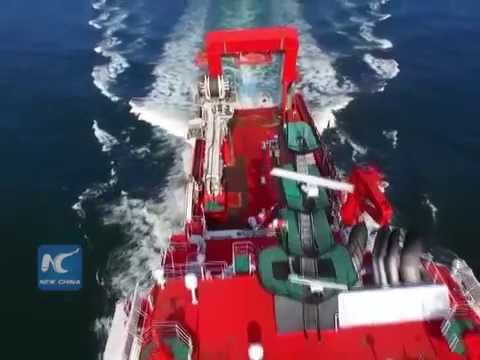 China commissions deepwater multifunctional ship
