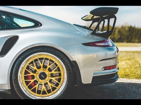 New Rotiform Wheels On The PORSCHE GT3 RS!