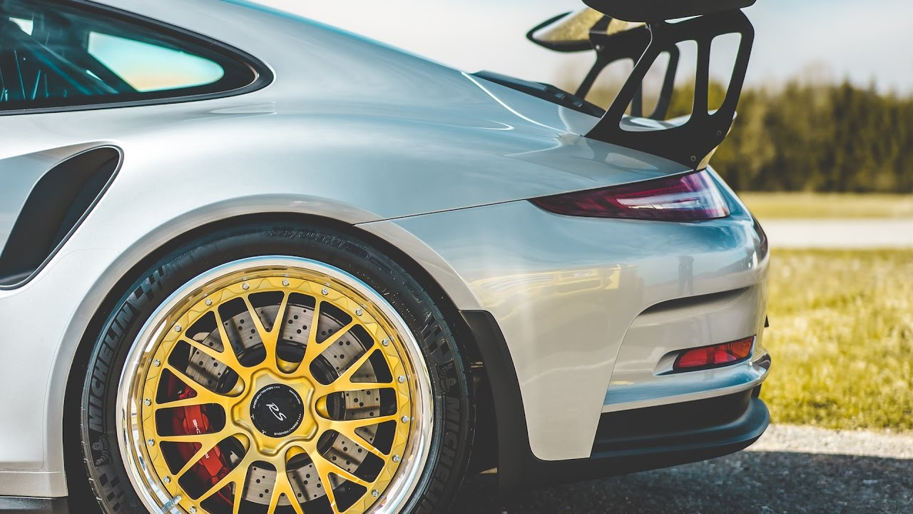 new rotiform wheels on the porsche gt3 rs youtube. Black Bedroom Furniture Sets. Home Design Ideas