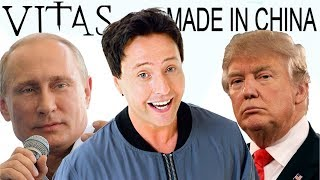 Repeat youtube video Donald Trump -made in CHINA (Vitas remix)