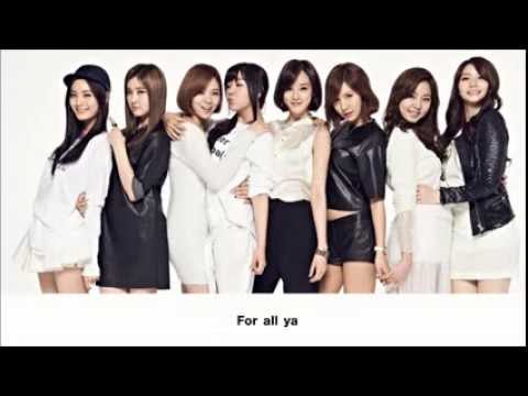 After School - A Week (Eng Tran & Colored Lyric)