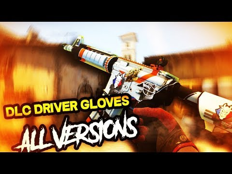 DLC CS:GO MOD para Counter Strike Source | Driver Gloves (v34-90)