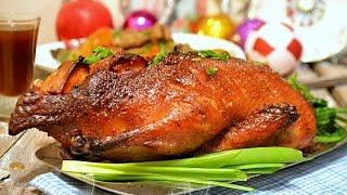 Запеченная утка в духовке с рисом и яблоками. Простой и вкусный рецепт(Запеченная утка в духовке с рисом и яблоками. Простой и вкусный рецепт. В видео я покажу рецепт как пригот..., 2016-03-07T10:56:36.000Z)