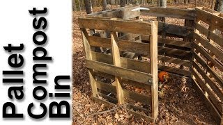 Pallet Compost Bin - Gardenfork.tv